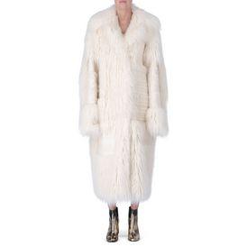 STELLA McCARTNEY, Lungo, Cappotto Nyla Fur Free Fur avor