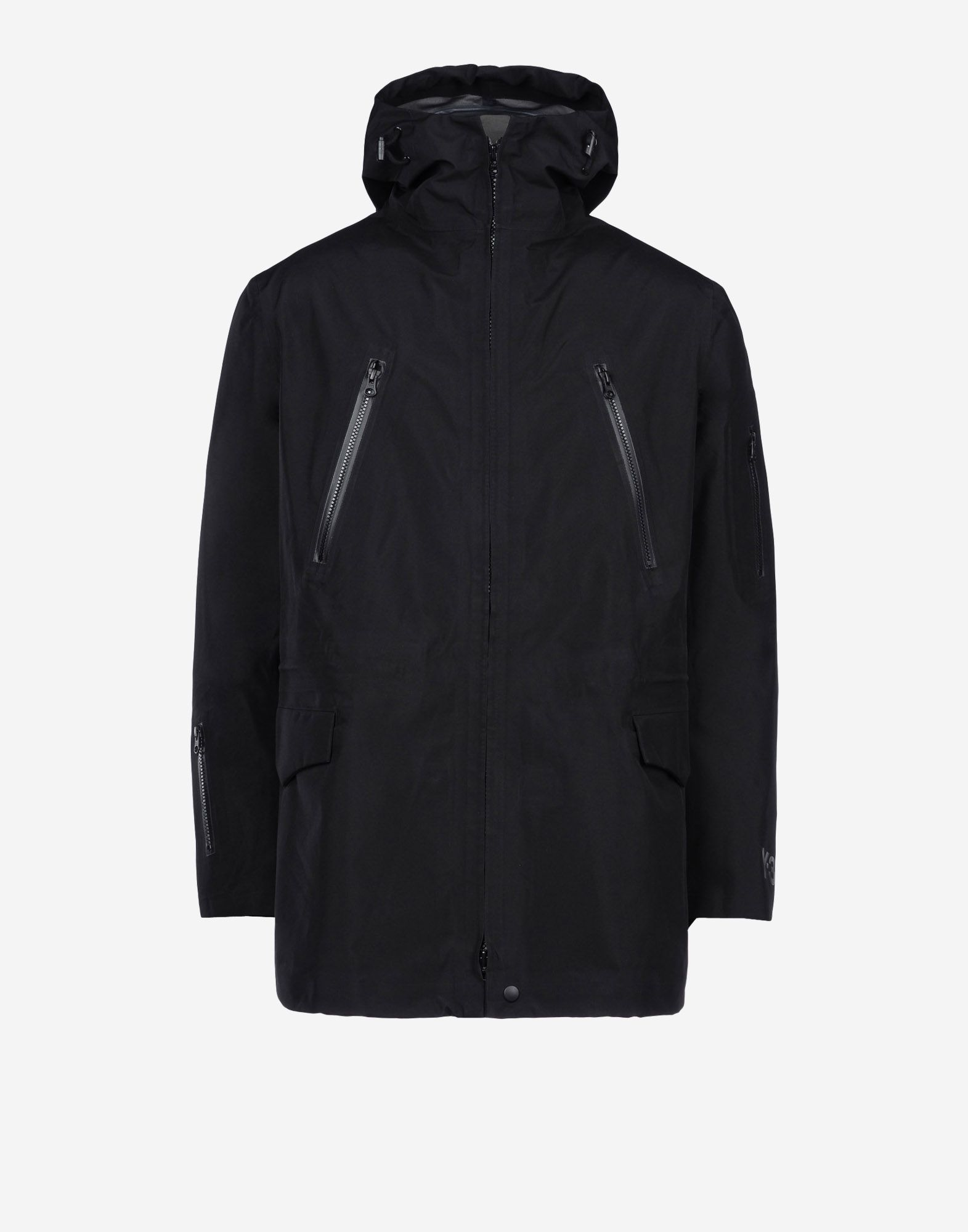 jackets y 3 gore tex parka for men online official store. Black Bedroom Furniture Sets. Home Design Ideas