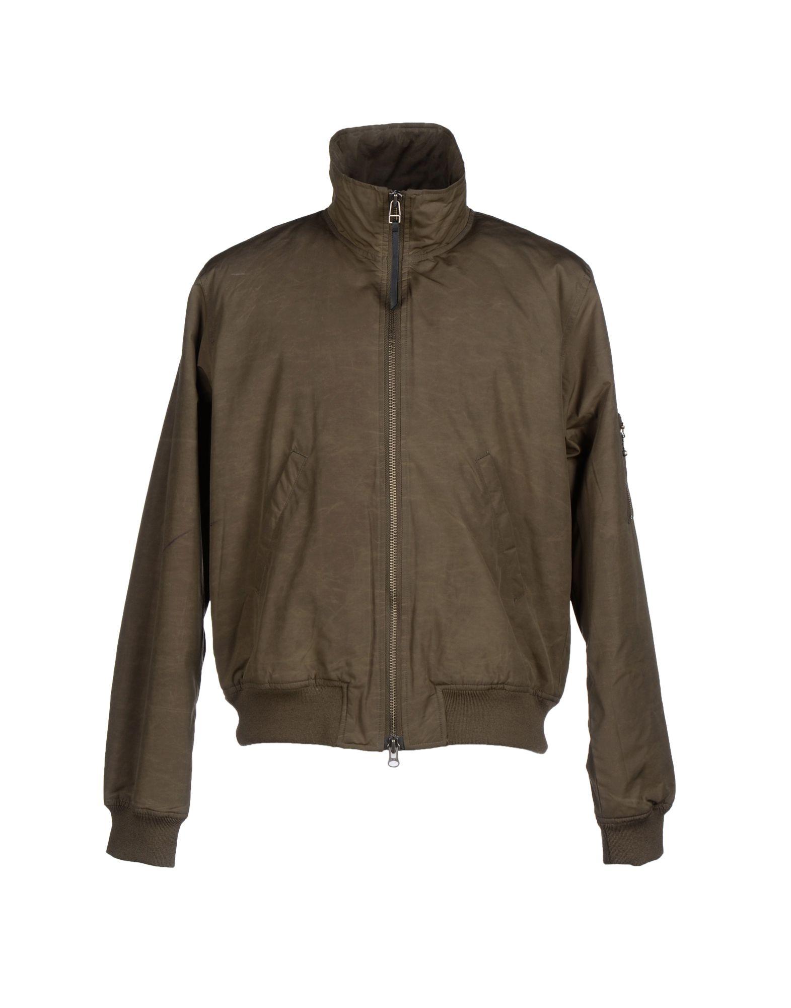 TIGER OF SWEDEN Herren Jacke Farbe Militärgrün Größe 6