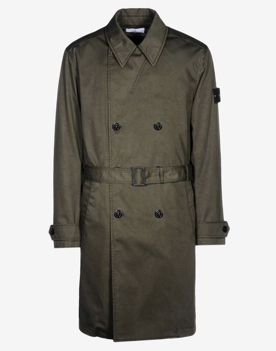 terrific value high quality materials distinctive style TRENCH COAT Stone Island Men - Official Store