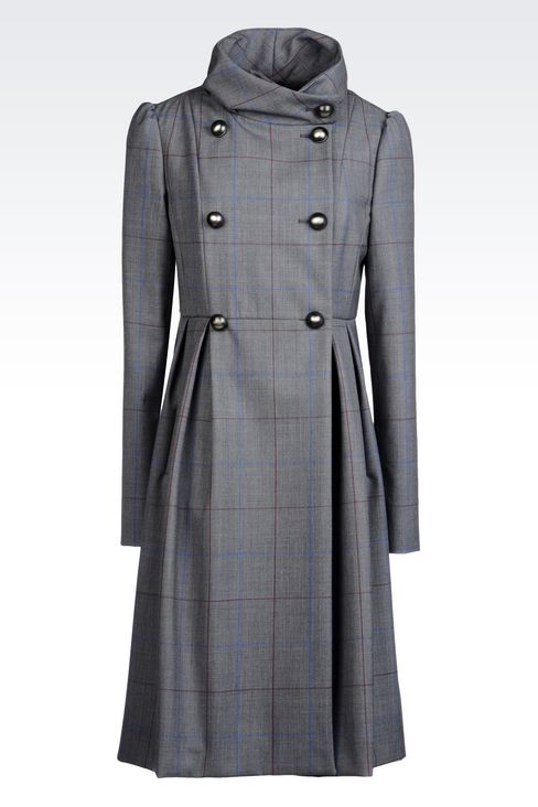 Coats: Double-breasted coats Women by Armani - 1