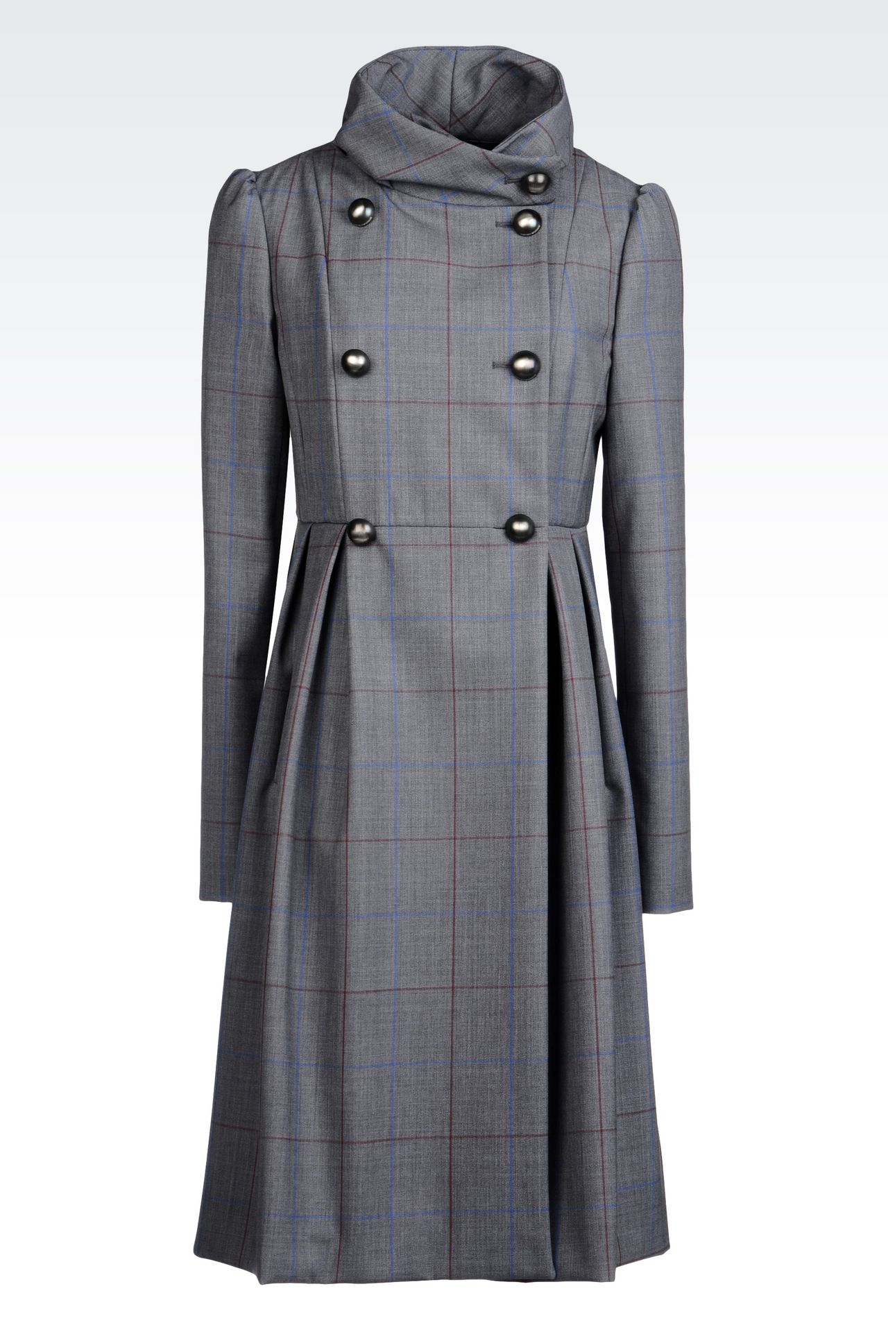 Coats: Double-breasted coats Women by Armani - 0