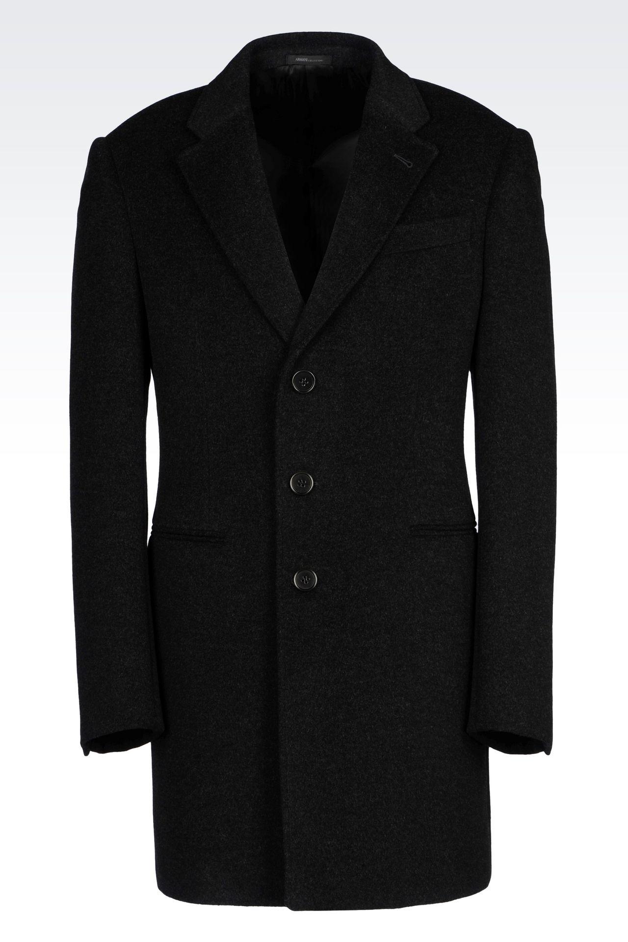 Men's Coats Armani Collezioni - Armani.com