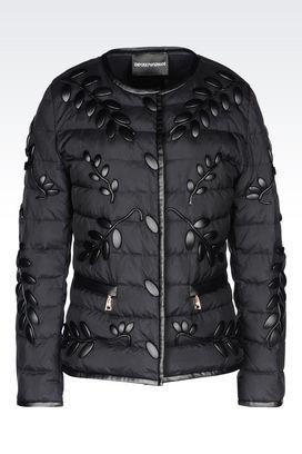 Armani Dust jackets Women down jacket in light nylon