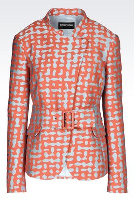 Armani Dinner jackets Women jacket in jacquard