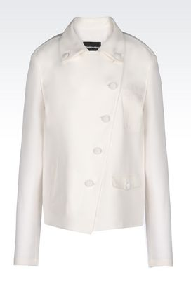 Armani Dinner jackets Women runway jacket in light cady