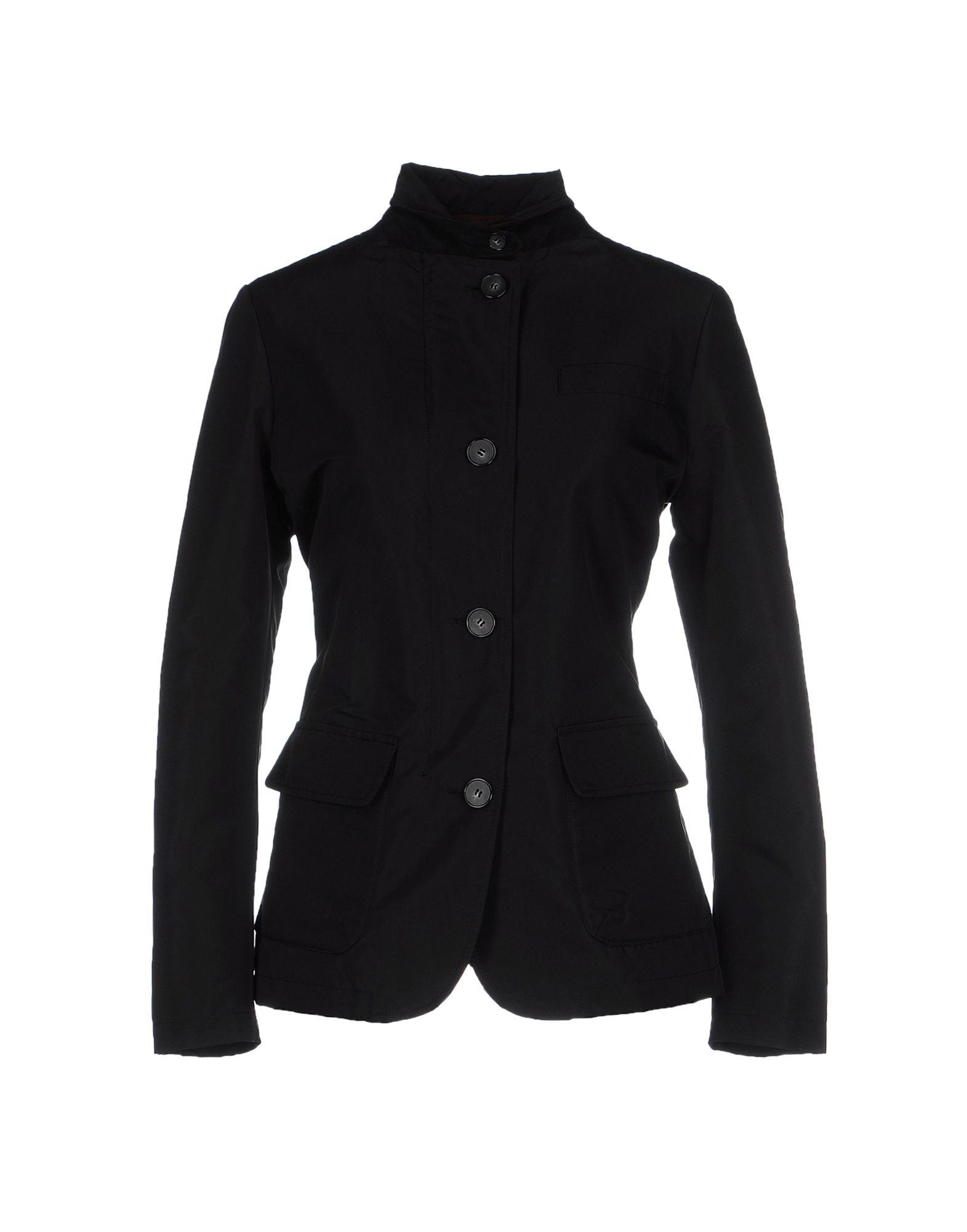 ALAIN Damen Jacke Farbe Dunkelbraun Größe 3