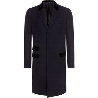 ALEXANDER MCQUEEN, Coat, Contrasting Flap Double Check Coat