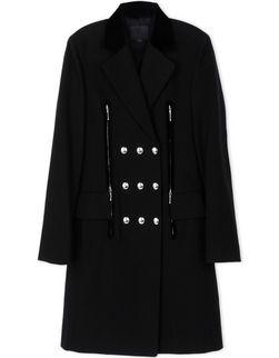 RUNWAY EXCLUSIVE TAILORED DRESS COAT