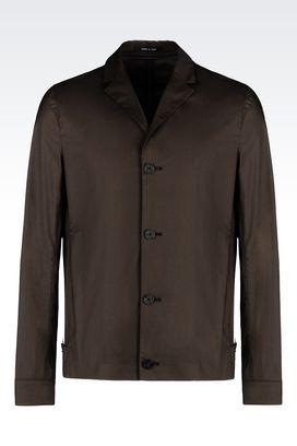 Armani Vestes à trois boutons Homme veste en coton