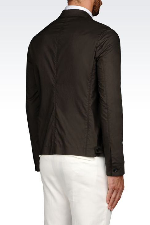 COTTON JACKET: Three buttons jackets Men by Armani - 3