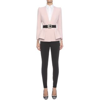 ALEXANDER MCQUEEN, Tailored Jacket, Folded Peplum Jacket
