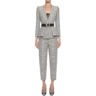 ALEXANDER MCQUEEN, Tailored Jacket, Fold Peplum Jacket