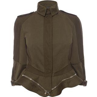 ALEXANDER MCQUEEN, Jacket, Military Peplum Jacket