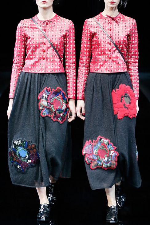 LAMBSKIN JACKET: Dinner jackets Women by Armani - 2