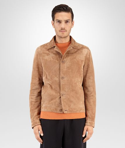 BLOUSON IN NEW CIGAR SUEDE