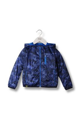 Armani Short-length jackets Men hooded blouson in technical fabric