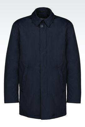 Armani Dust jackets Men pea coat in nylon