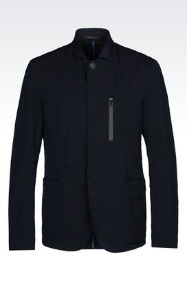 Armani Dinner jackets Men jacket in technical fabric