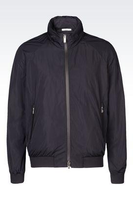 Armani Bomber jackets Men travel essentials blouson in technical fabric