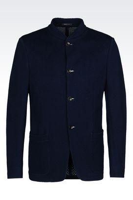 Armani Dinner jackets Men slim fit jersey jacket