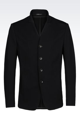 Armani Dinner jackets Men slim fit jersey jacket