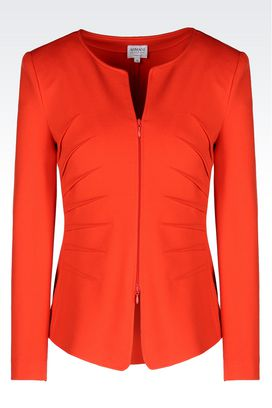 Armani Dinner jackets Women jacket in milano rib