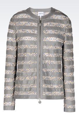 Armani Dinner jackets Women jacket in napa lambskin