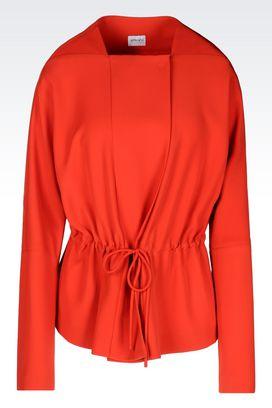 Armani Dust jackets Women pea coat in cady
