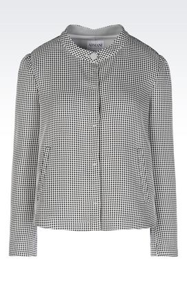 Armani Dinner jackets Women jacket in cloque jacquard