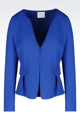 Armani Dinner jackets Women crêpe jacket
