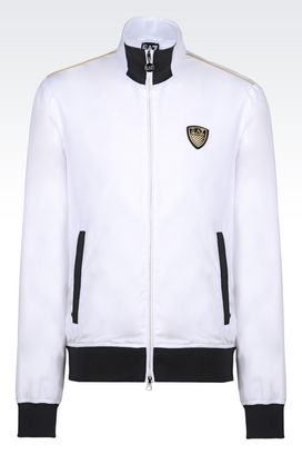 Armani Bomber jackets Men jacket in technical fabric