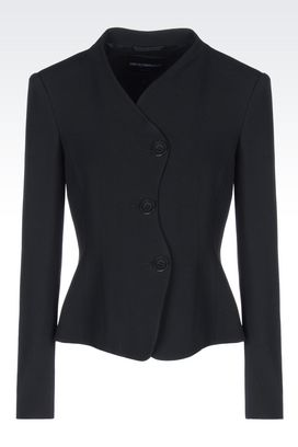 Armani Three buttons jackets Women jacket in cady