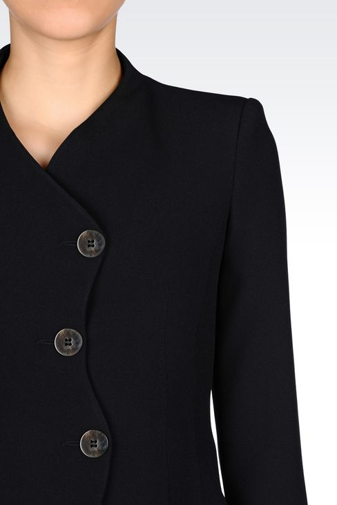 JACKET IN CADY: Three buttons jackets Women by Armani - 4
