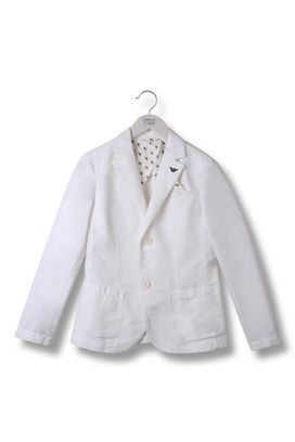 Armani Two buttons jackets Men linen jacket