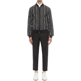 ALEXANDER MCQUEEN, Giacca Bomber, Bomber Barbed Wire