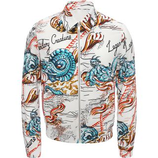 ALEXANDER MCQUEEN, Jacket, Legendary Creature Printed Blouson