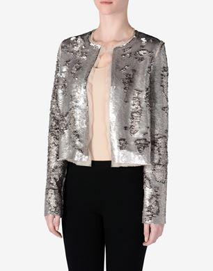 Maison Margiela Cropped sequin jacket