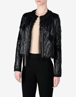 Maison Margiela Quilted sheepskin jacket