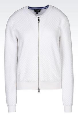 Armani Bomber jackets Women knit blouson