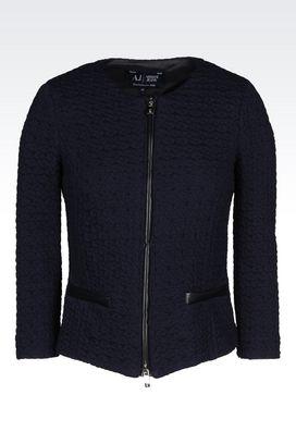 Armani Vestes de smoking Femme veste en jersey
