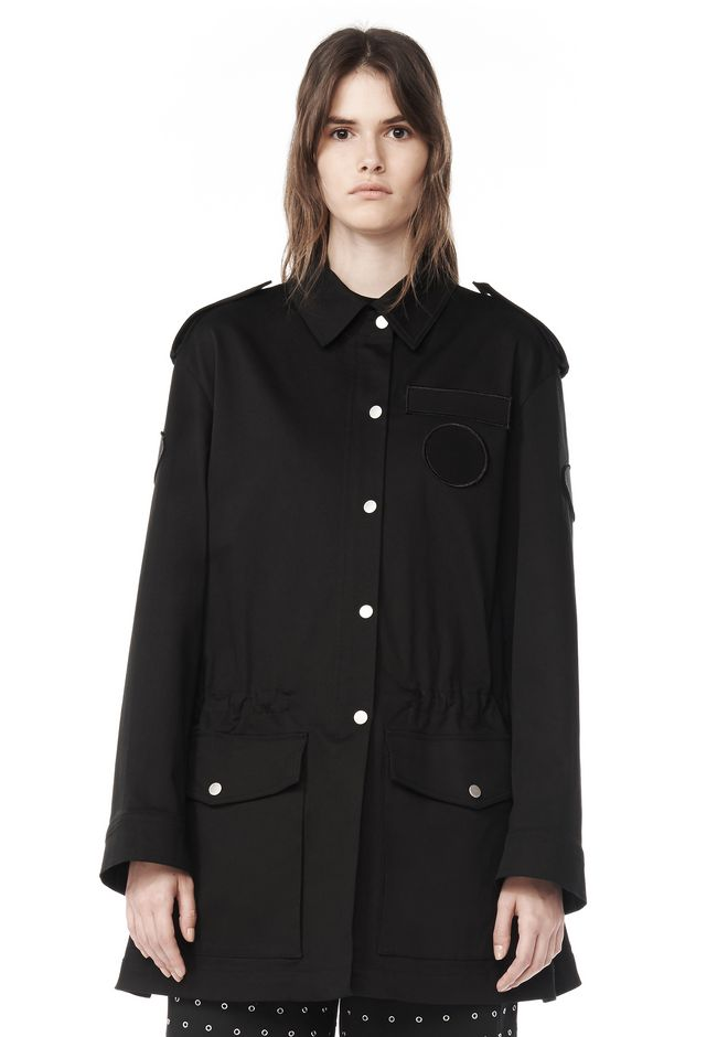 ALEXANDER WANG JACKETS AND OUTERWEAR  Women MILITARY PARKA