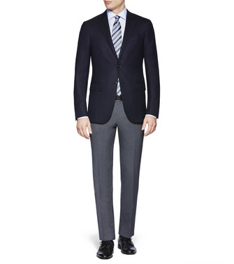 ERMENEGILDO ZEGNA: Formal Jacket Steel grey - 41613431DV