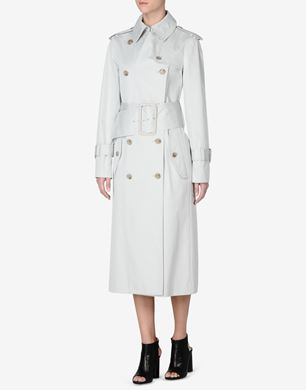 Maison Margiela Trench coat with oversized details