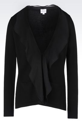 Armani Dinner jackets Women jacket in basketweave