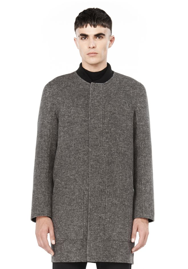 ALEXANDER WANG JACKETS AND OUTERWEAR  CREWNECK CAR COAT