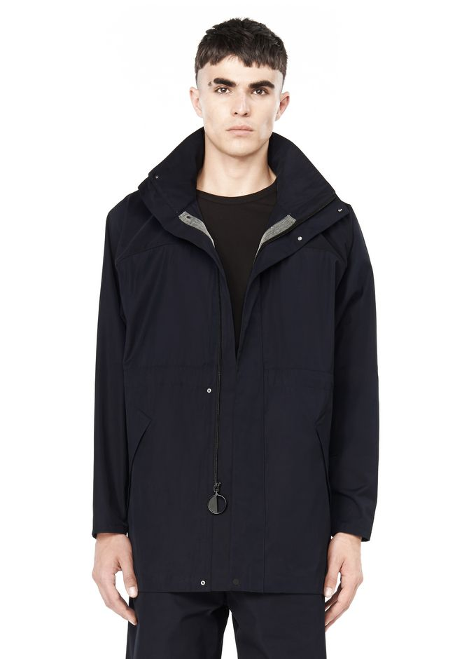 T by ALEXANDER WANG JACKETS AND OUTERWEAR  TECH TWILL COAT