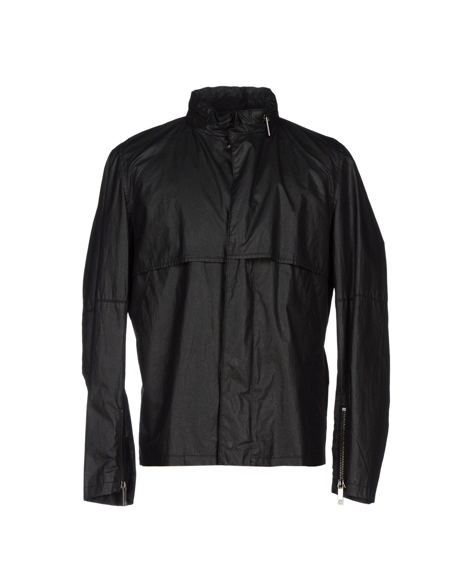 TIGER OF SWEDEN Herren Jacke Farbe Schwarz Größe 4