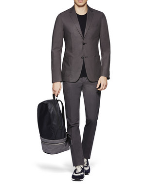 ZZEGNA: Formal Jacket Steel grey - 41621177EA