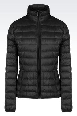 Armani Down coats Women ultra light down jacket with special packaging